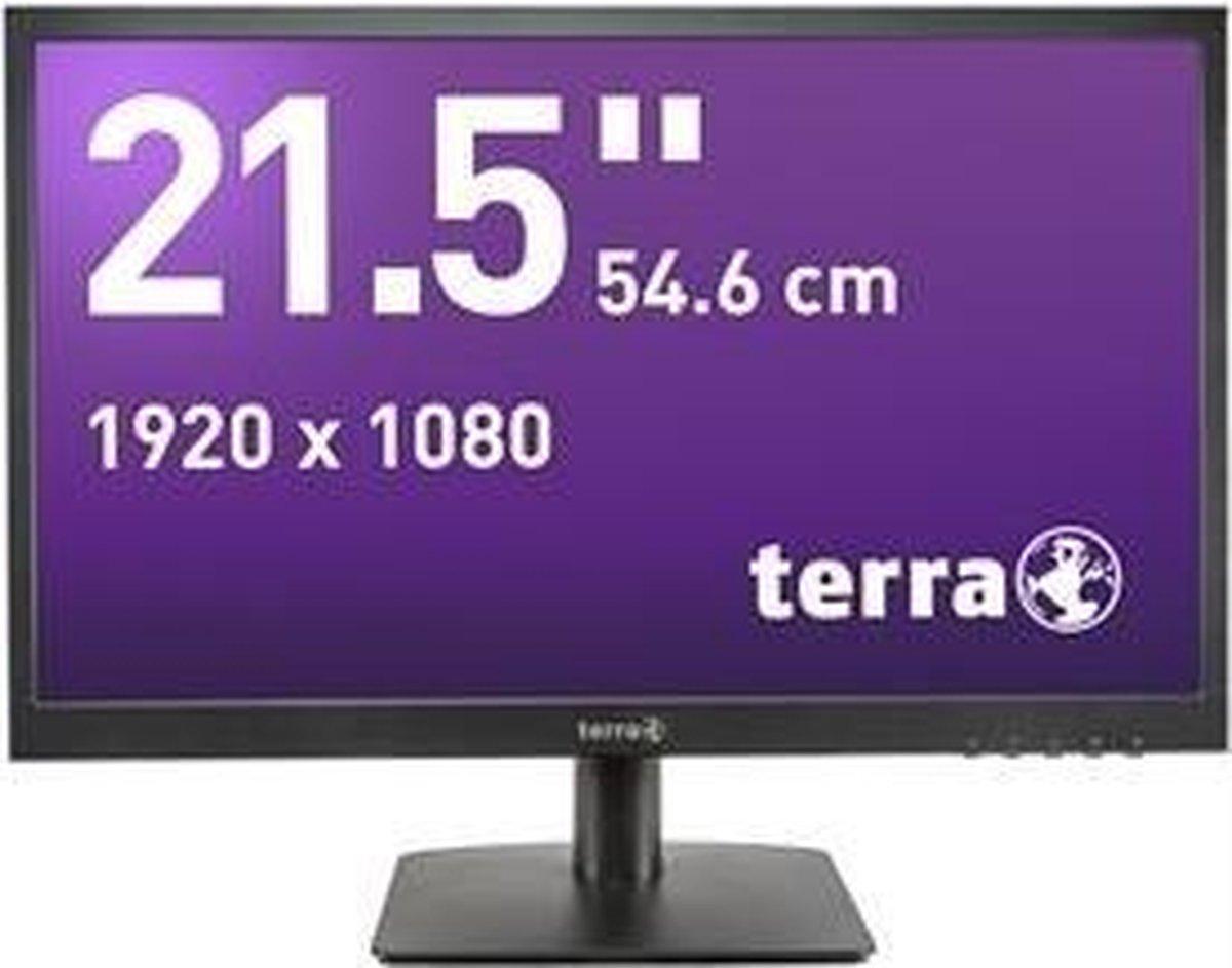 Wortmann AG LED 2226W 54,6 cm (21.5) 1920 x 1080 Pixels Full HD Zwart