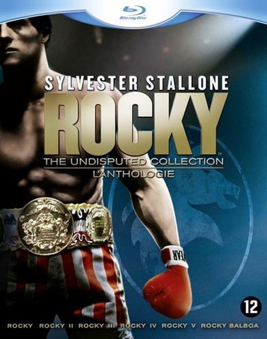 Cover van de film 'Rocky The Undisputed Collection'