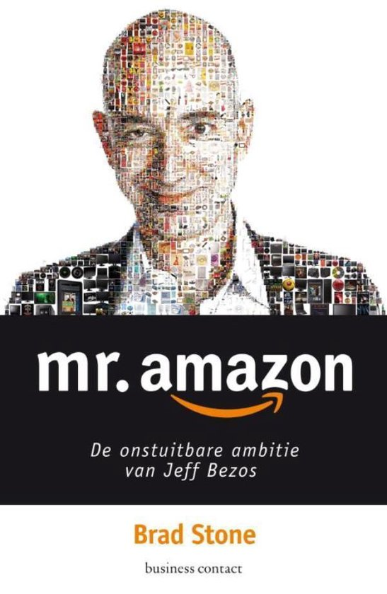 Boek cover Mr. Amazon van Brad Stone (Onbekend)