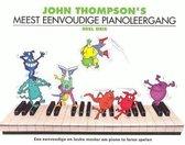 John Thompson's Meest Eenvoudige Pianoleergang