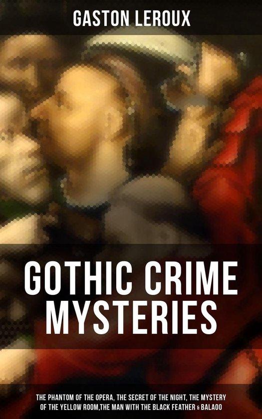 Omslag van GOTHIC CRIME MYSTERIES