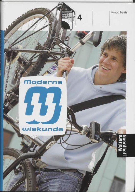 Hoofdboek 4 Vmbo basis Moderne wiskunde - I. van Breugel  