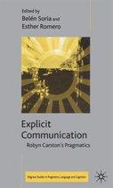Explicit Communication