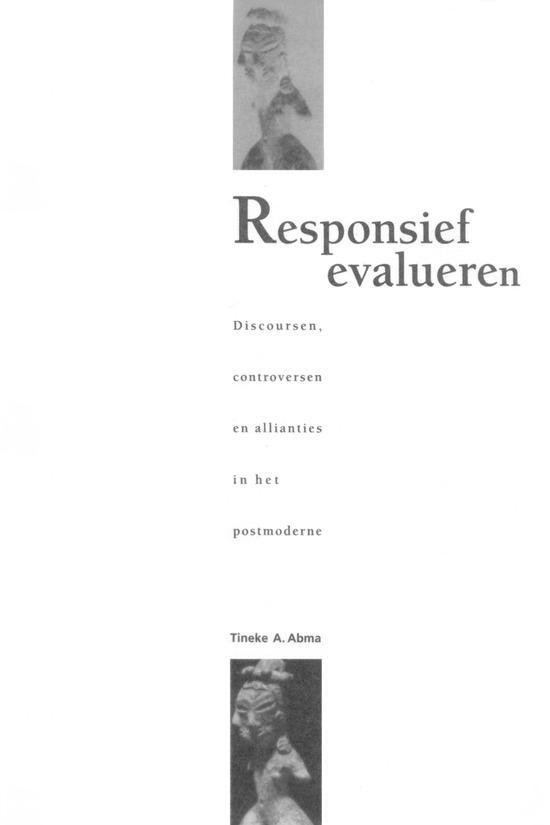 Responsief Evalueren - Tineke Abma | Fthsonline.com