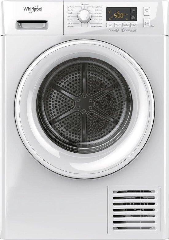 Whirlpool FTNL M11 82 Warmtepompdroger - A++ - 8kg