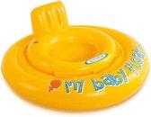 Intex Gele Opblaasbare Baby Zwemtrainer - 6 tot 12 Maanden | Opblaasbaar Speelgoed | Zwembad | Zwemband | Babyfloat | Baby Float