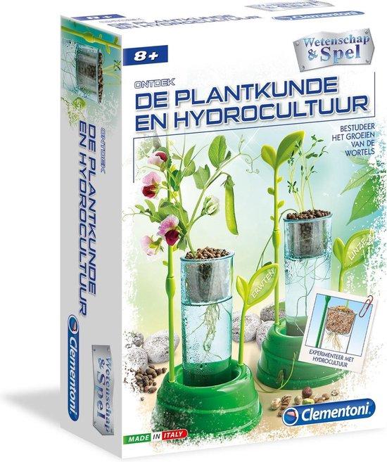 Clementoni - Wetenschap & Spel - Broeikas met hydrocultuur - Experimenteerset