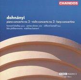 Piano Concerto 2/Violin Concerto 2/Harp Concertino