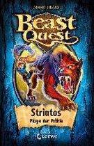 Beast Quest 44. Striatos, Plage der Prärie
