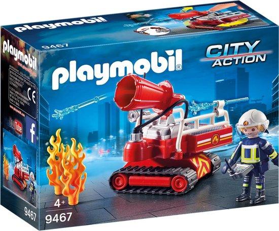 PLAYMOBIL Brandweer blusrobot - 9467