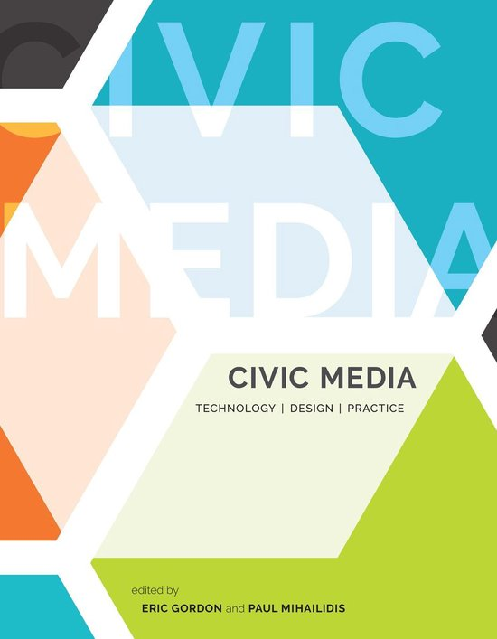 Boek cover Civic Media van Peter Levine (Onbekend)