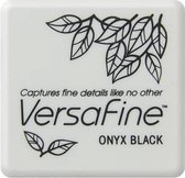 VFS-82 Versafine ink pads small Onyx Black - zwart