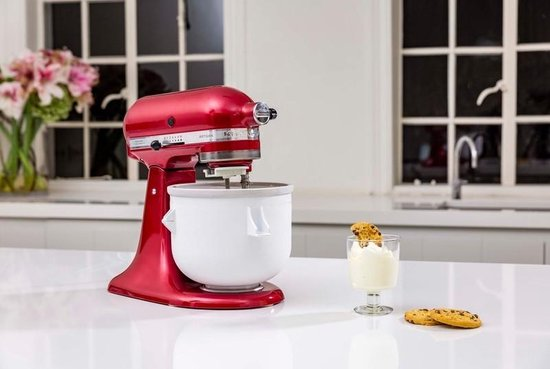 Kitchenaid 5KICA - ijsmaker - accessoire voor Kitchenaid keukenmachine