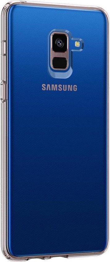 Spigen Liquid Crystal Case Samsung Galaxy A8 Plus (2018) - Crystal Clear
