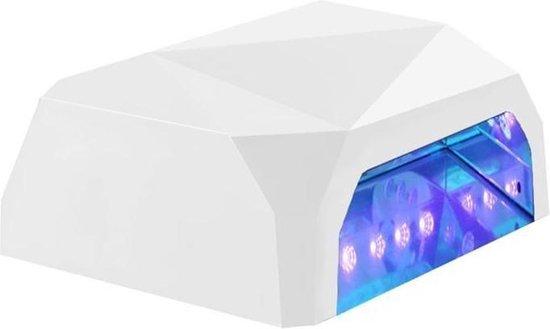 36W Nageldroger Met UV LED Lamp Nagels - Gellak/Gelnagels/Gel Nagellak Droger - Nagellamp / Nagel Lamp - Wit