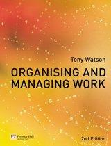 Organising and Managing Work