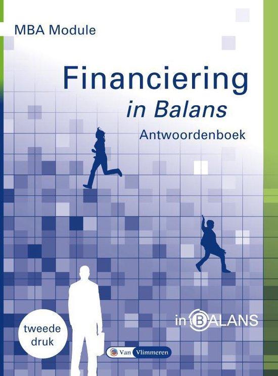 MBA Module Financiering in Balans - Sarina van Vlimmeren |