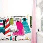 KEK Amsterdam Dress up Party - Fotobehang - Full Color