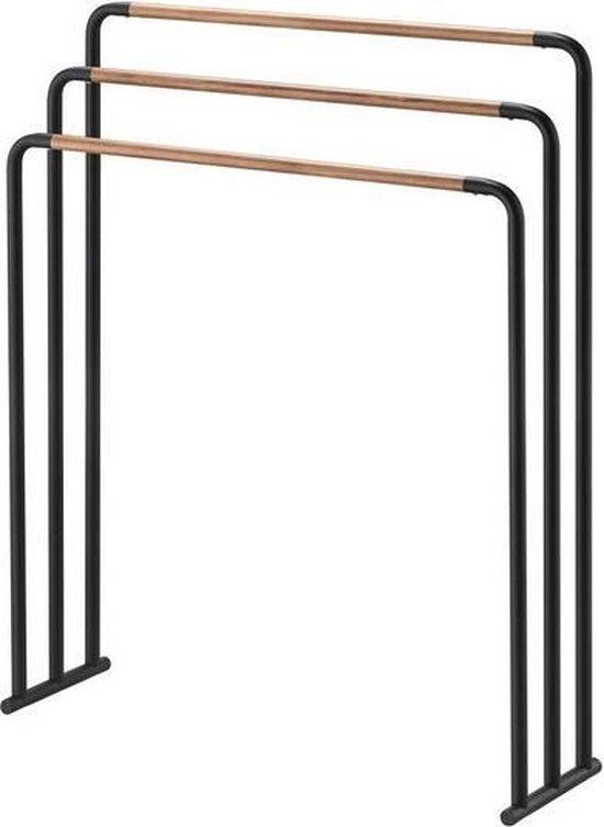 Yamazaki Bath towel hanger - plain - black