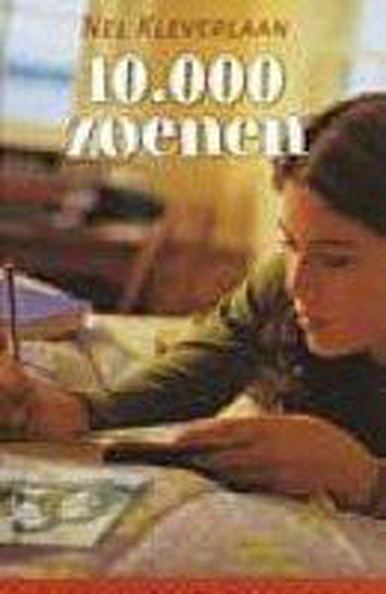 Cover van het boek '10.000 zoenen' van Nel Kleverlaan