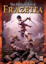 2020 the Fantasy Art of Frazetta 16-Month Wall Calendar: By Sellers Publishing