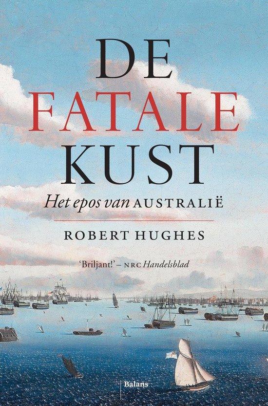 Boek cover De fatale kust van Robert Hughes (Onbekend)
