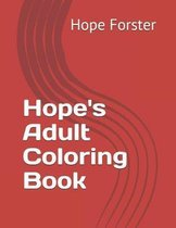 Hope's Adult Coloring Book