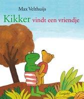 Boek cover Kikker - Kikker vindt een vriendje van Max Velthuijs