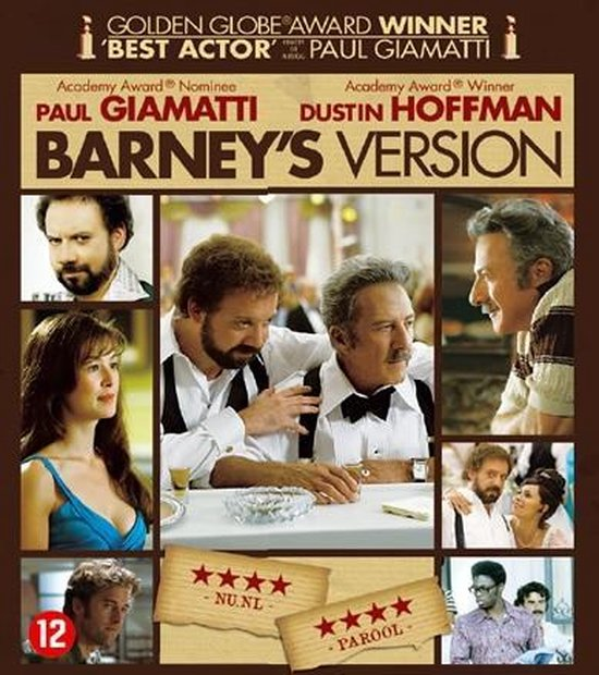 Cover van de film 'Barney's Version'