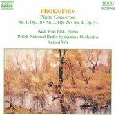 Prokofiev: Piano Conc. 1,3&4