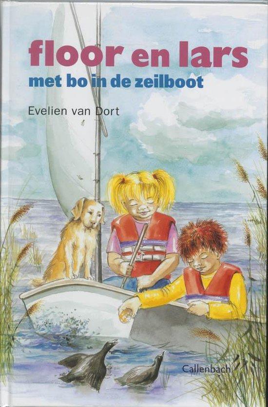 Floor En Lars Met Bo In De Zeilboot