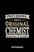 Professional Original Chemist Notebook of Passion and Vocation