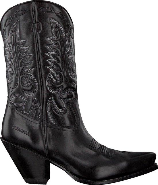 | Sendra Dames Cowboylaarzen 15838 Zwart Maat 38