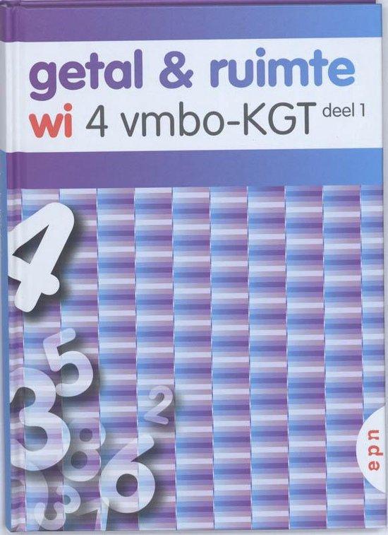 Getal en Ruimte/ Deel 1 / deel wi 4 vmbo-KGT - none  