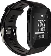 Siliconen Horloge Band Voor Garmin Forerunner 30/35 - Armband / Polsband / Strap Bandje / Sportband - Zwart