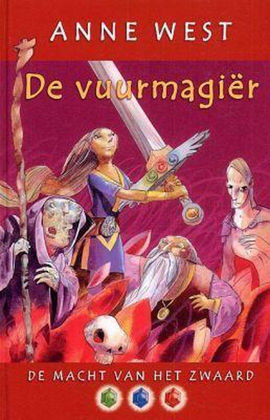 Cover van het boek 'De Macht van het Zwaard / 3 De vuurmagier' van A. West