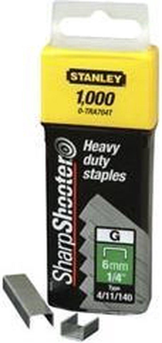 STANLEY Nieten 5000 Stuks - 14mm - Type G