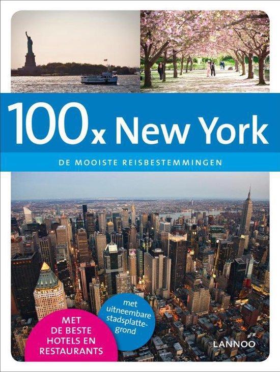 Cover van het boek '100 x New York'