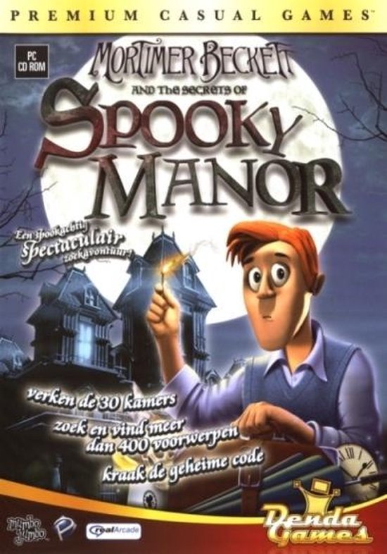 Mortimer Beckett And The Secrets Of Spooky Manor – Windows