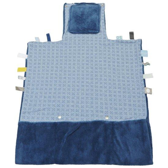 Snoozebaby verschoningsmat - Easy Changing - Indigo Blue - 50x70cm