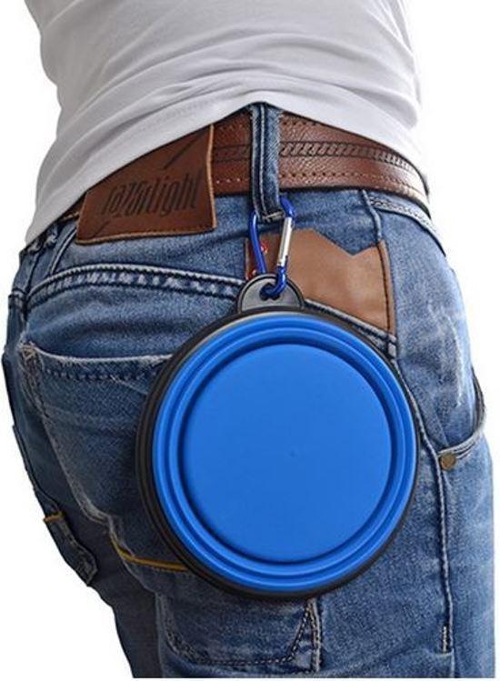Opvouwbare drinkbak - Blauw
