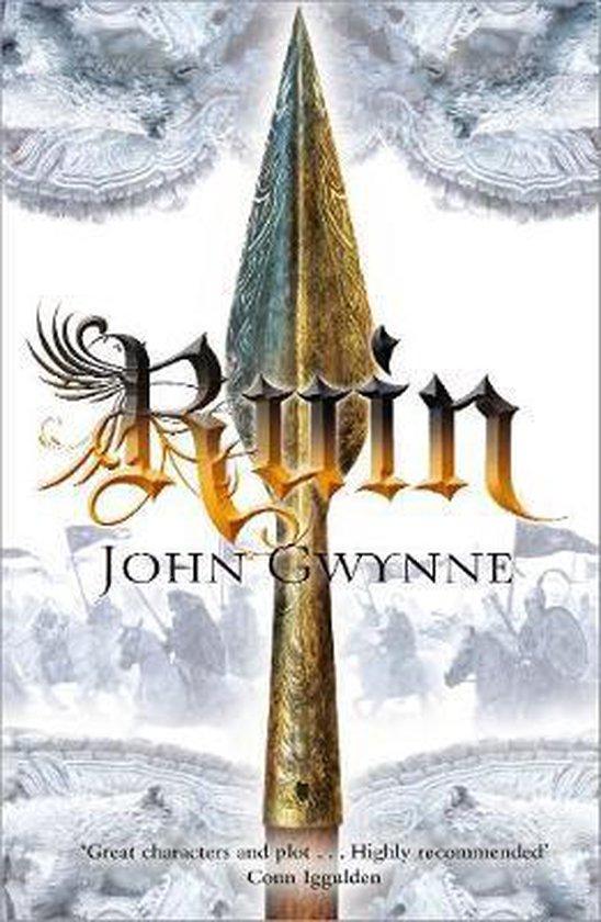 Boek cover Ruin van John Gwynne (Paperback)