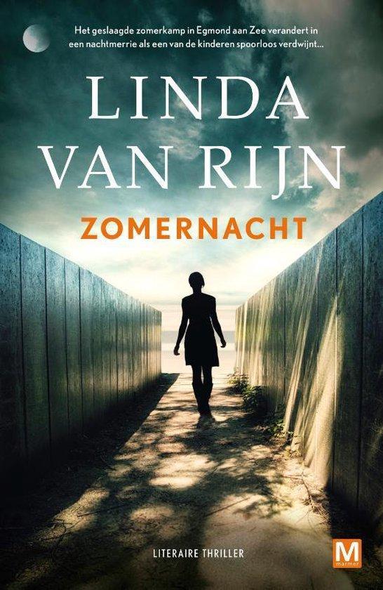 Boek cover Zomernacht van Linda van Rijn (Paperback)