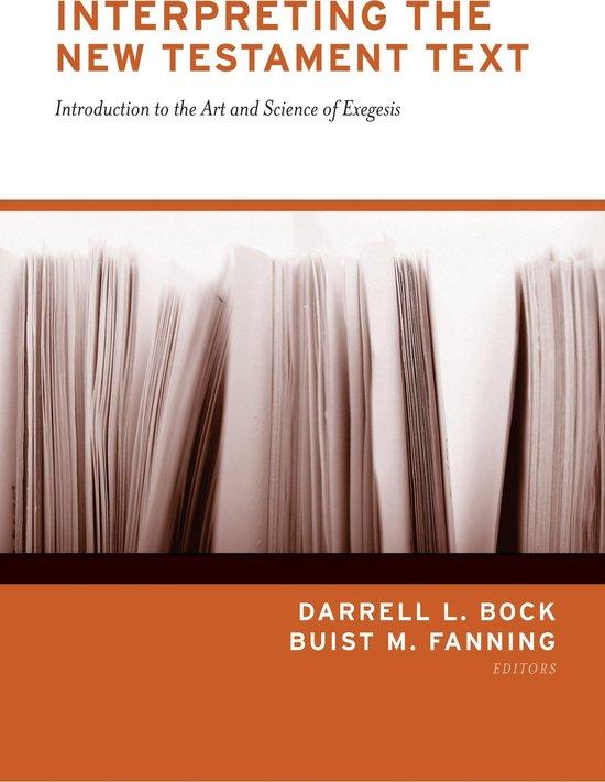 Boek cover Interpreting the New Testament Text van Daniel B. Wallace (Onbekend)