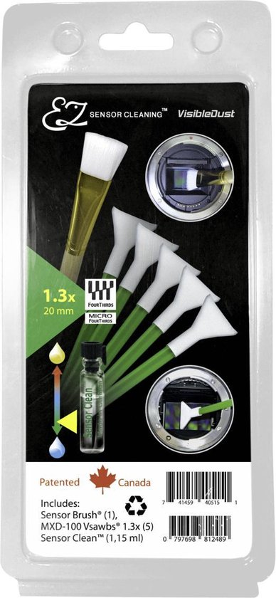 Visible Dust EZ Plus Kit Sensor Clean 1.3