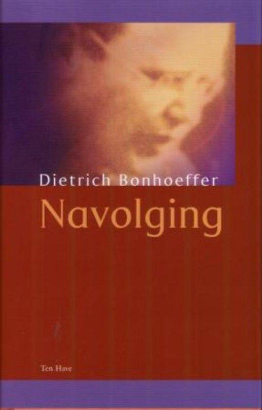 Navolging - Dietrich Bonhoeffer |