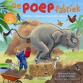 Boek cover De poepfabriek van Marianne Busser (Onbekend)