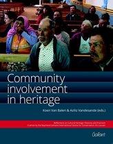 Community Involvement in Heritage, Volume 1