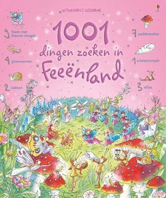 Cover van het boek '1001 dingen zoeken in feeenland' van G.   Doherty