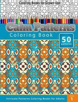 Coloring Books for Grown-Ups Calm Patterns